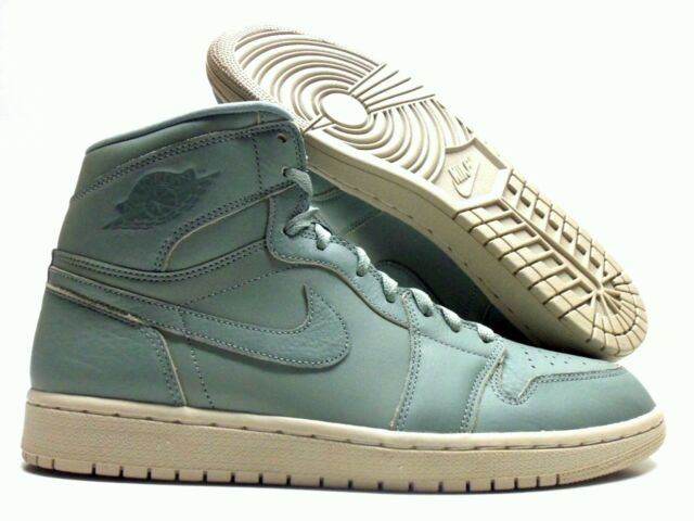 6c8e2c0e539 NIKE AIR JORDAN 1 RETRO HIGH PREMIUM MICA GREEN SIZE MEN S 13  AA3993-333