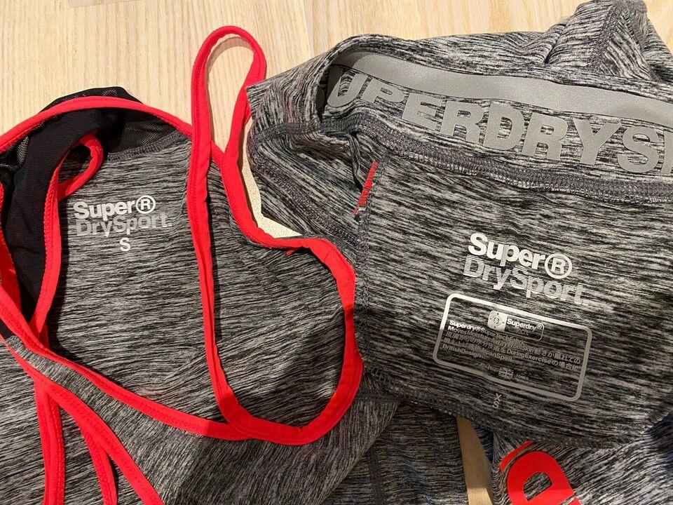 Træningstøj, Tights og top, Superdry sport