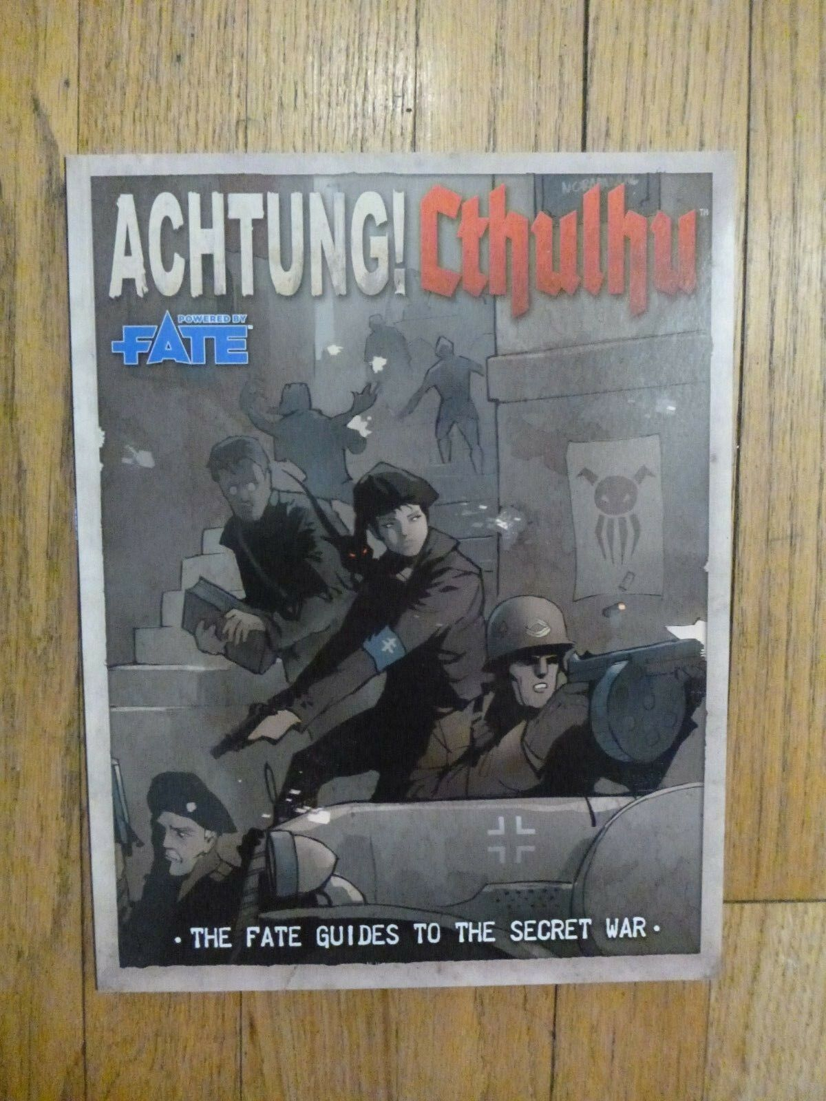ACHTUNG Cthulhu The Fates Guides to the Secret War RPG Modiphius