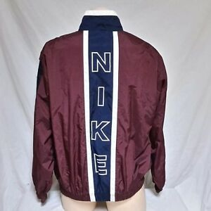VTG Nike Windbreaker Jacket 90s Big Logo Spell Out Coat Jordan Air ... f019e74dd