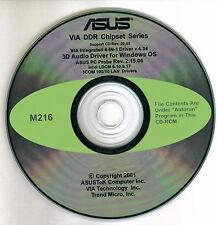ASUS A7V266 or A7V266-C Motherboard Drivers Installation Disk M216