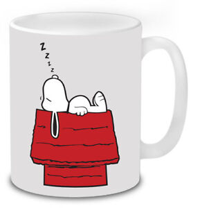 Details About Snoopy Sleeping Retro Funny Mug Novelty Gifts Coffee Tea Secret Santa