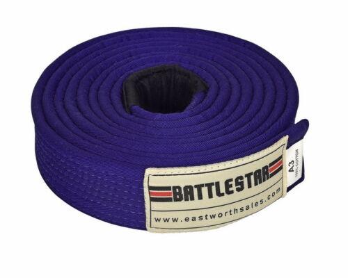 PURPLE Jiu Jitsu BJJ Belt 100/% Cotton Pro Quality IBJJF Standard by BATTLESTAR