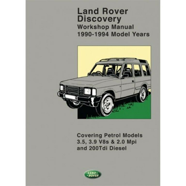 Land Rover Discovery 200tdi Workshop Manual