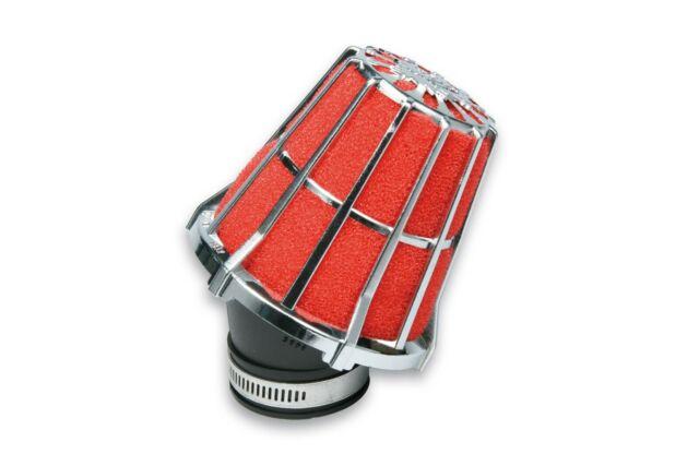 [Malossi] Filtro de Aire Red Filtro E5 Ø41 Carburadores Phvb Cromado