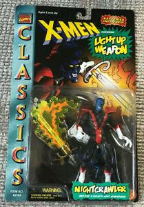 MARVEL-X-MEN-CLASSIC-NIGHTCRAWLER-FIGURE-TOYBIZ-1996-WITH-LIGHT-UP-SWORD