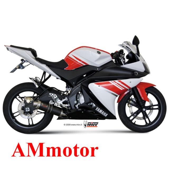 Scarico Completo Mivv Yamaha Yzf R125 2011 11 Terminale Gp Carbonio Moto