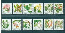 FLEURS - FLOWERS PALAU 1987 Common Stamps