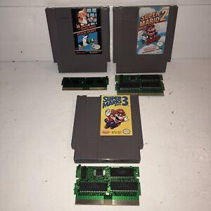 CLEAN-AUTHENTIC-Nintendo-NES-Super-Mario-Bros-Trilogy-1-2-3-Duck-Hunt-TESTED