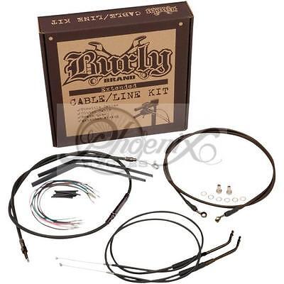 "12"" Burly Apehanger Kabel Verlängerung Kit Harley XL Sportster 97-03"