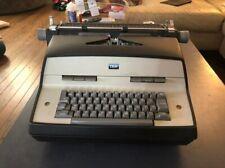 Vintage Ibm Electric Typewriter 1969 Model Number 12 Great Condition