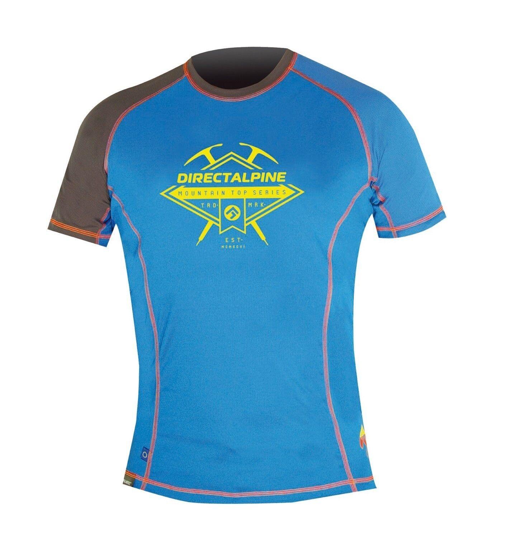 direct ALPINE Laser Tee-shirt, kurzarm-funktionsshirt pour hommes, hommes, hommes, bleu, gr. XL 355d36