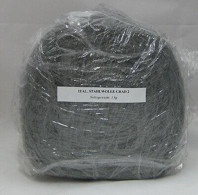 1 kg STAHLWOLLE GRAD 0 MITTEL VON RAKSO SCHLEIFWOLLE SCHLEIFEN SCHLEIFMITTEL