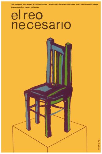 3148.The defendant needed.Reo necesario POSTER.Yellow Home interior design decor