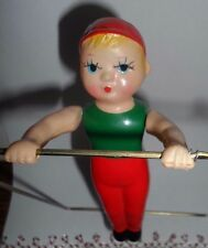 "Vintage ""Arty the Trapeze Artist"" KIKAITAISO~Wind-up~Celluloid~Toy"