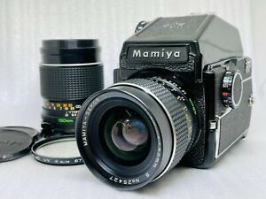 [NEAR MINT] Mamiya M645 w/ PD Prism Finder Sekor C 45mm 150㎜ Lens From JAPAN