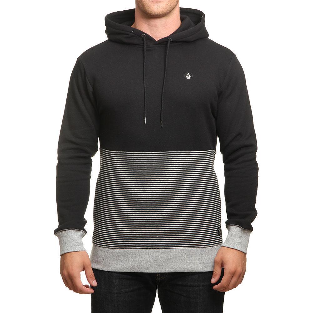 Volcom Threezy Kapuzenpulli Schwarz Kleidung Schuhe & Zubehör Herren Kleidung