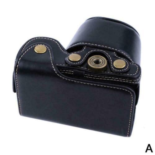 Cámara De Cuero 3-color caso bolsa FR A6000 A6300 sólo Lente 16-50mm Alpha con C9W7