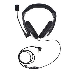 Noise-Cancelling-Radio-Overhead-Headphones-with-Boom-Mic-for-Motorola-2-Pin