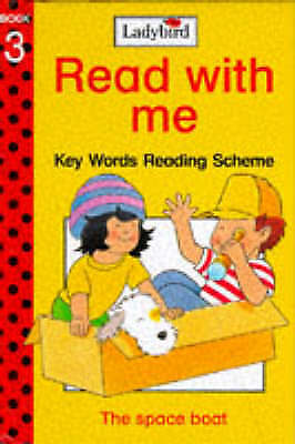 1 of 1 - The Space Boat (Ladybird Read with Me: Key Words Reading Scheme Book 3), Jill Co