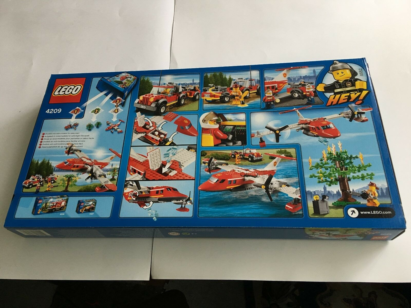 LEGO City Fire Plane - Set 4209 - Brand New & Sealed