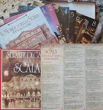 Serata di Gala Alla Scala 100 brani famosi 9 Lp EMI VINTAGE'70 LIRICA 33g