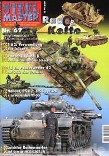 STEELMASTER 67: Afrikakorps Sd.Kfz 232 Panzer III / NEU