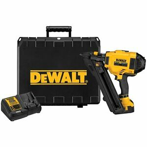 DEWALT DCN693M1 20-Volt 4.0 Ah 30-Degree Cordless Metal Connector Nailer