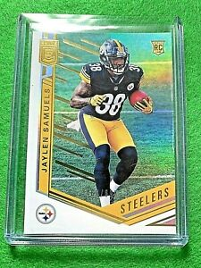 JAYLEN-SAMUELS-RC-JERSEY-38-SP-699-PITTSBURGH-STEELERS-2018-Donruss-Elite-PRIZ