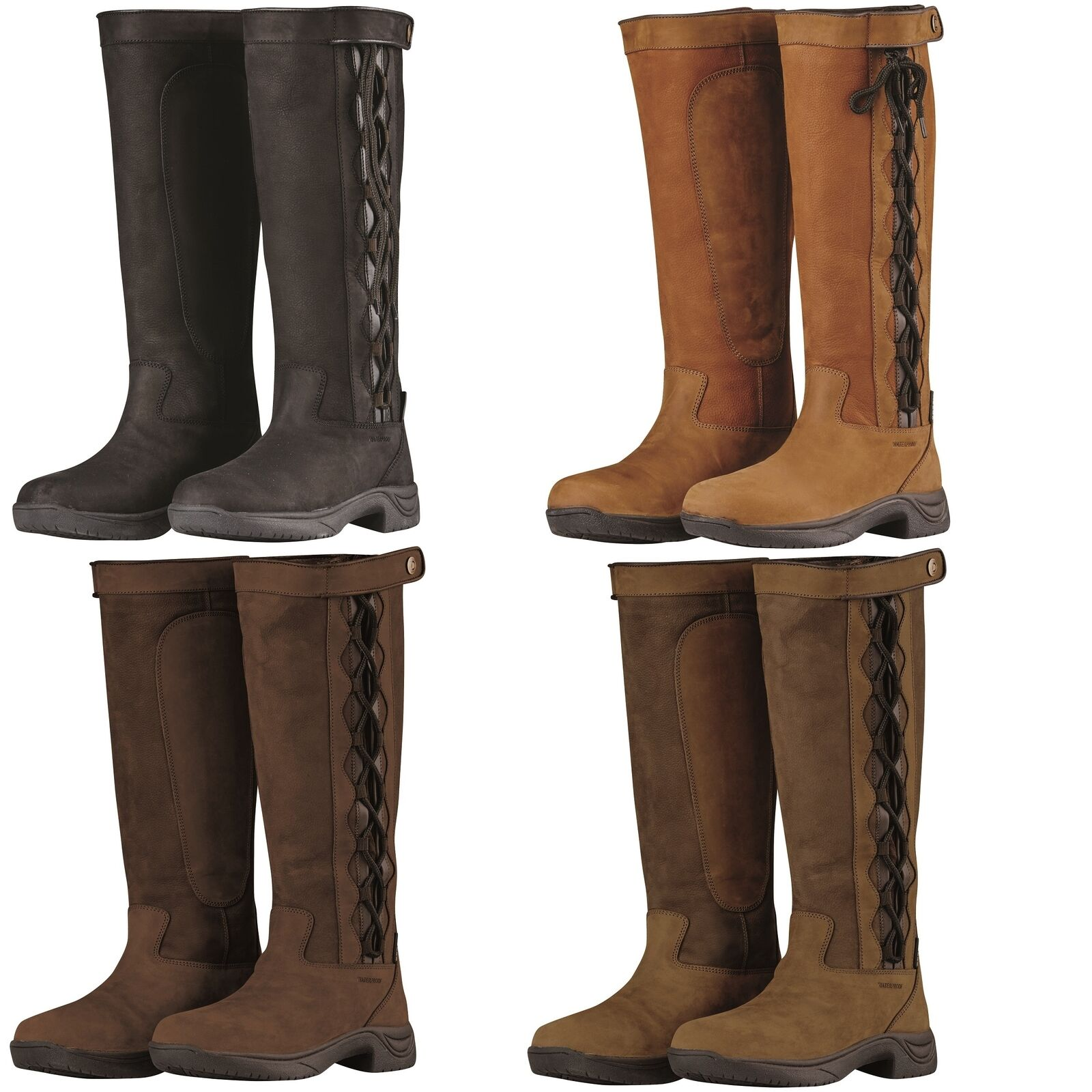 Dublin Pinnacle Country Long Leather Riding Boots WATERPROOF Boots ALL SIZES