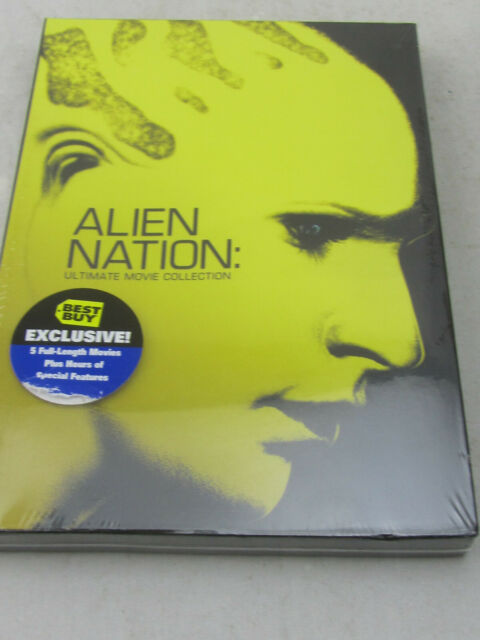 NEW - Alien Nation Ultimate Movie Collection (DVD, 2009, 3-Disc Set) Sealed
