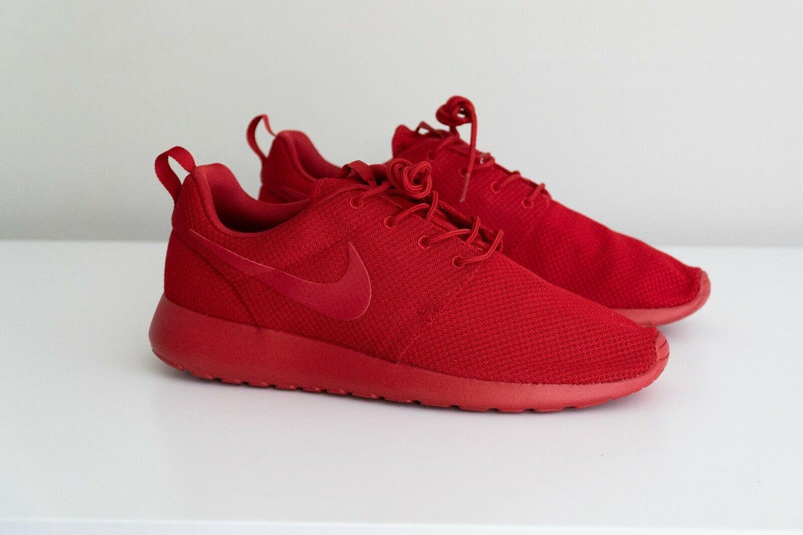 promo code 57731 4bc93 Men's Nike Roshe One Shoes Varsity Red October 511881-666 Size 11