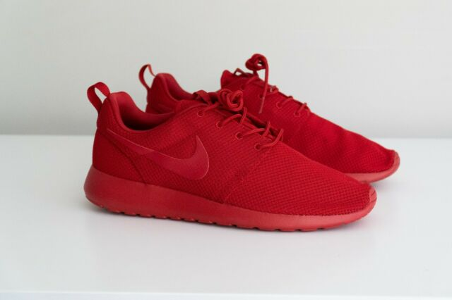 promo code 9b845 1975b Men's Nike Roshe One Shoes Varsity Red October 511881-666 Size 11
