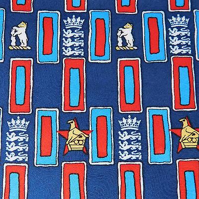 England v Zimbabwe cricket tie Edgbaston 2000 NEW Warwickshire international