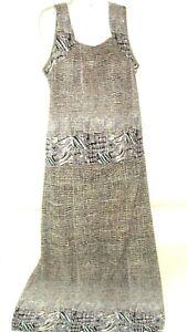 90s-Pleat-Pleat-By-Rafael-2-Pc-Maxi-Skirt-and-sleeveless-Top-Beach-Boho-XL-VTG