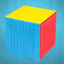 Zauberwuerfel-MoYu-Meilong-9x9-stickerless-original-Speedcube-magic-cube Indexbild 1