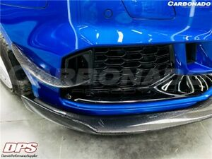 2019+ RS3 BKSS Style Carbon Fiber Front Lip Canards for Audi