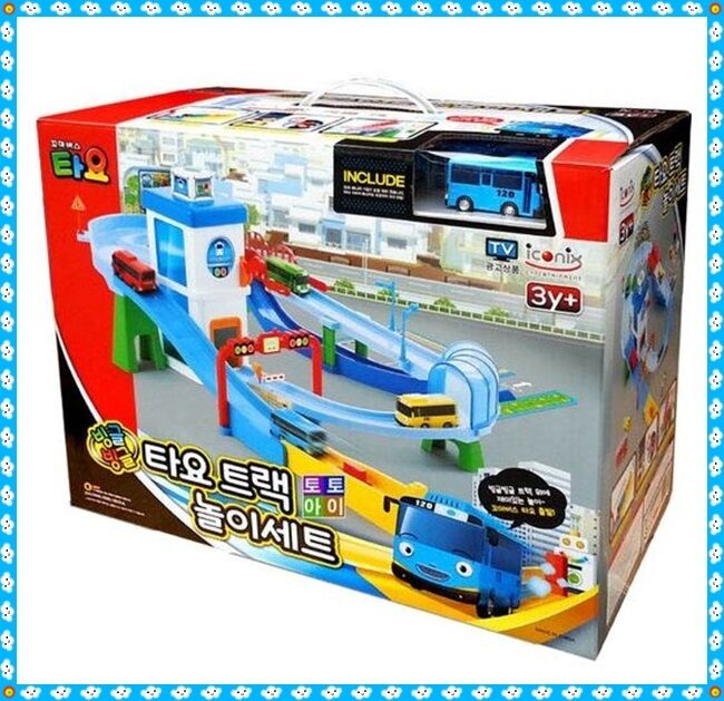 The Little Bus TAYO Whirling Track Play Set