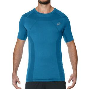 Details about Asics Tech Tee Mens Running T-Shirt Sport Jersey Training Tee- show original title