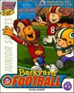 Backyard Football 1 PC MAC CD quarterback NFL manage teams ...