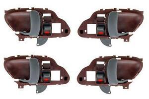 NEW Inside Door Handle Tan Set of 4 Fits 95-99 Suburban Tahoe Yukon