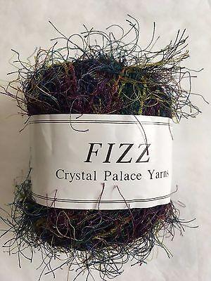 50g 120yd Crystal Palace Fizz Eyelash Yarn #7301 Tangerine Orange