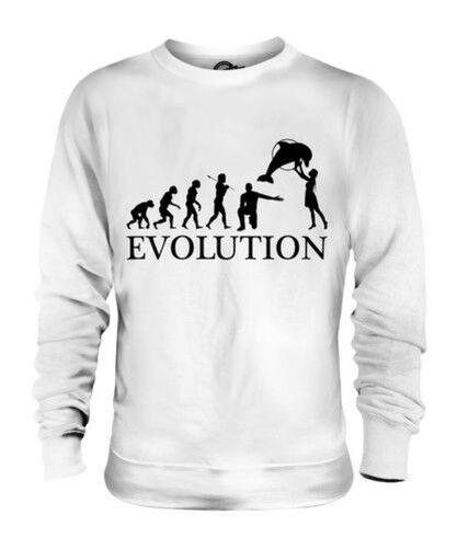 Aquarium Evolution des  Herrenchen Unisex Pullover Herren Damen Geschenk