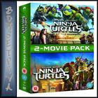 Teenage Mutant Ninja Turtles & out of The Shadows - 2 Movies DVD