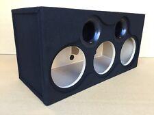 "Custom Ported Sub Box Enclosure for 3 10"" Sundown Audio NSV3 Nightshade v.3 Subs"
