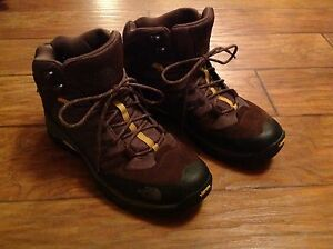 7c58dc773 Details about The North Face Mens Storm Mid Wp Hiking boots - Brown/Antique  moss green