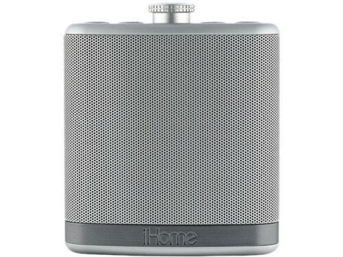 iHome iBT12SC Rechargeable Flask-Shaped Bluetooth Stereo Speaker with Custom Sou