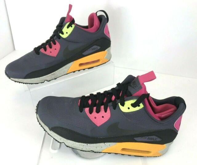 Nike Air Max 90 Sneakerboot Ns Womens Black White Shoes nike air
