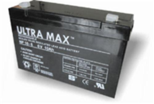 für 12Ah NP10-6,6V 10Ah UltraMax Bleisäure Wiederaufladbare Batterie 10Ah