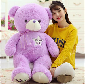 39/'/' Teddy Bear Stuffed Pink Beautiful Plush Huge Cute Soft 100/% Cotton Doll Toy